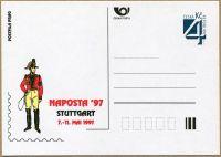 (1997) CDV 22 ** - P 24 - NAPOSTA Stuttgart 97
