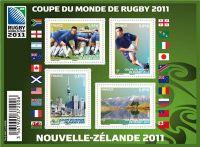 (2011) MiNr. 5160-5163 ** - Francie - BLOCK 154 - Ragby