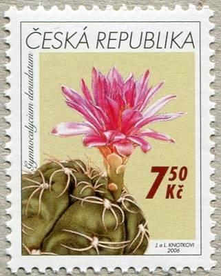 Česká pošta (2006) č. 484 ** - ČR kaktusy