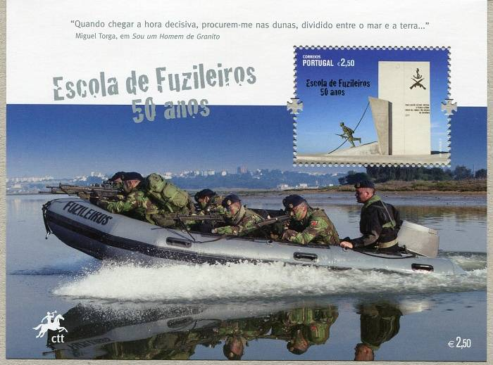 (2011) č. 3641 ** - BLOCK 317 - Portugalsko - 50 let námořní školy