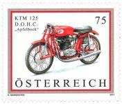 (2011) MiNr. 2914 ** - Rakousko - motocykl