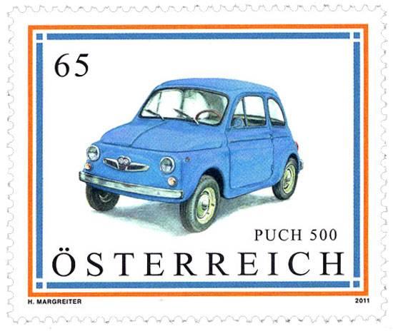 (2011) MiNr. 2915 ** - Rakousko - Automobil - Puch 500