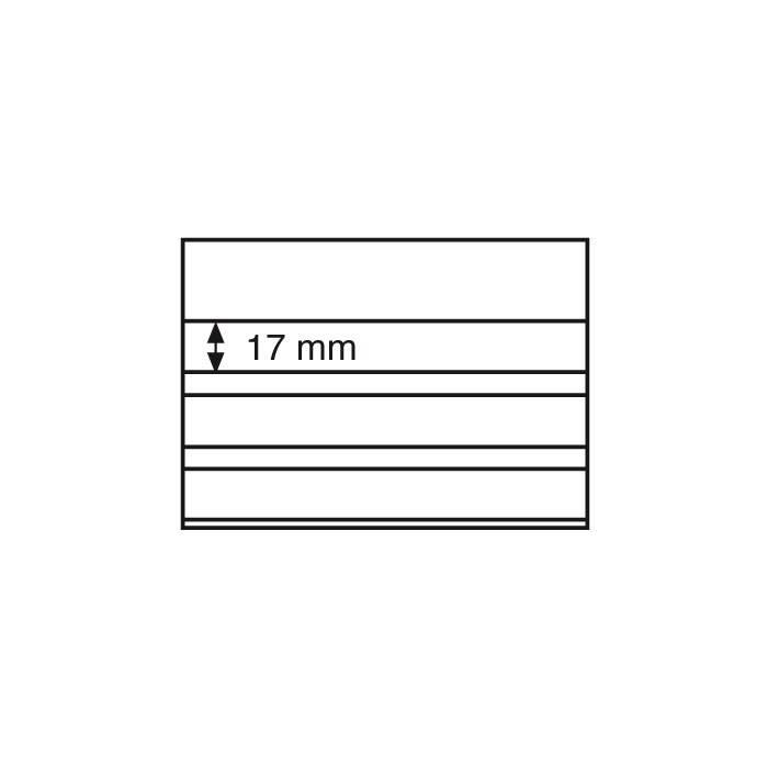 Volná karta VK 3 - 158x113 mm, 3 řádky s přebalem