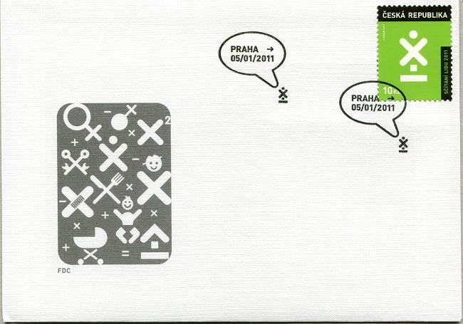 Česká pošta (2011) FDC 665 - Sčítání lidu