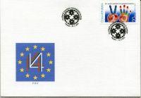 (2011) FDC 673 - 20. výročí Visegrádské skupiny
