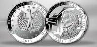 (2011) 10€ Ag - Německo - Franz Liszt