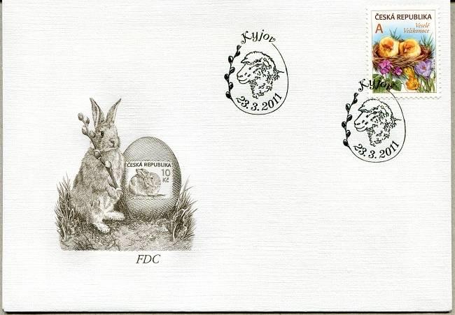 Česká pošta (2011) FDC 677 - Velikonoce
