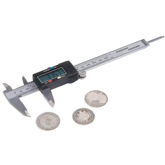 Digitální šupléra - rozsah 0-150 mm