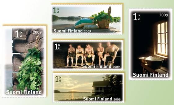 (2009) č. 1981-1985 ** - Finsko - Saunování