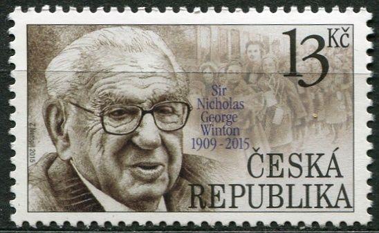(2015) č. 860 ** - Česká republika - Pocta Siru Nicholasovi
