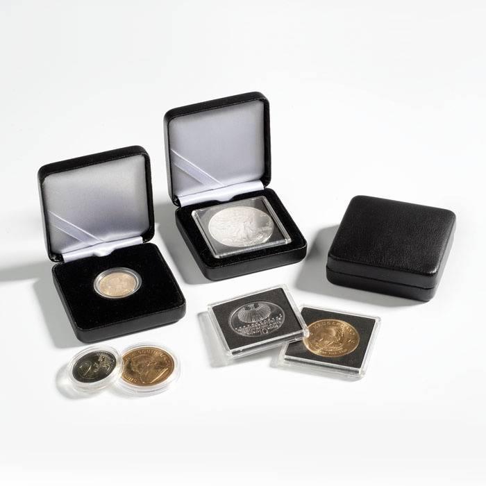 Kovová mincovní etue NOBILE - Ø 42 mm Leuchtturm