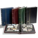 PREMIUM - luxusní zásob. 64 stran, kožená * vat. vazba + ochranná kazeta