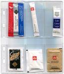 10 ks listů C6 na balený cukr - 6 kapes (na 6-18 ks cukrů)