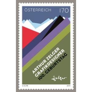 (2014) MiNr. 3176 ** - Rakousko - 100. narozeniny Arthur Zelger