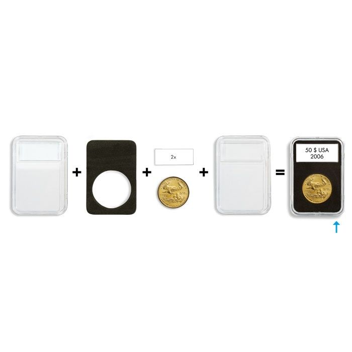 QUICKSLAB mincovní kapsle