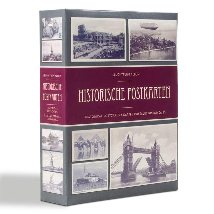 Leuchtturm Album na 200 historických pohlednic