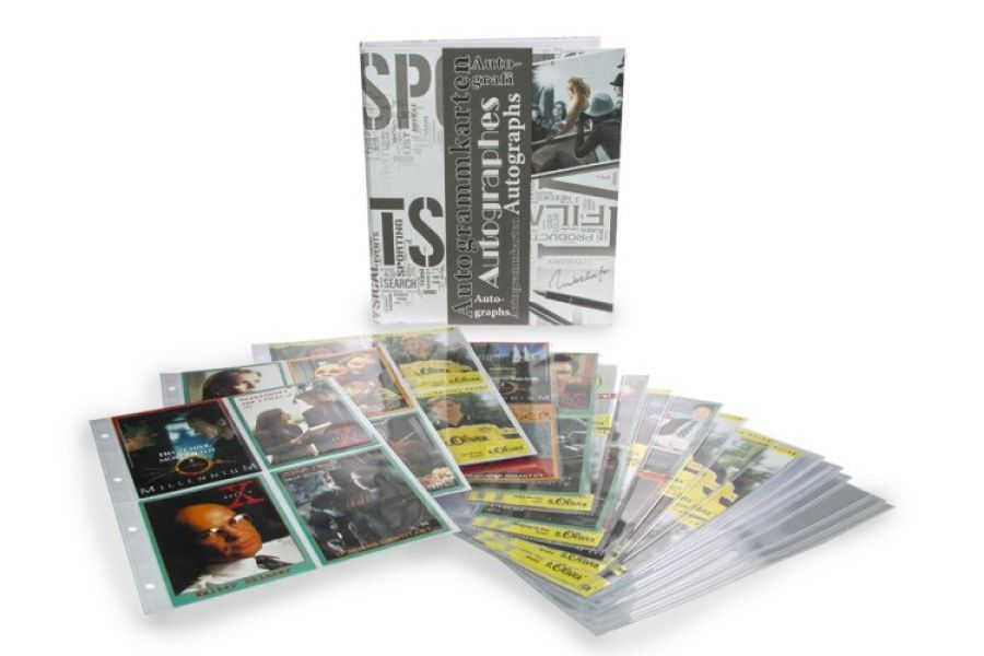 Album na autogramy - až na 160 ks karet