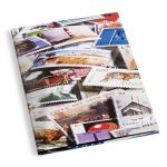 Stock Book BASIC - A4, 16 pages, clear strips, divided leaves