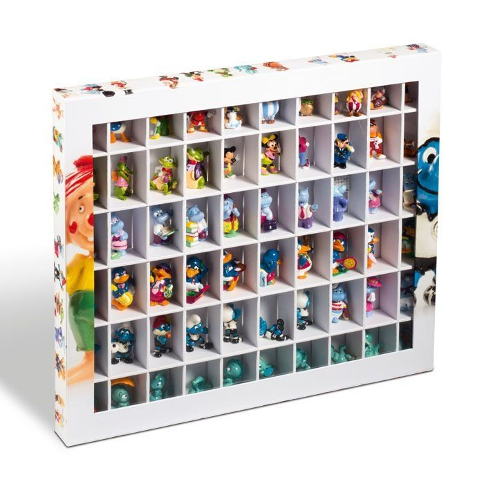 Leuchtturm Box pro 60 figurek Kinder Surprise