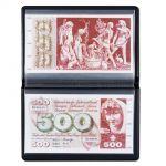 Kapesní album na 20 ks bankovek 210 x 125 mm Leuchtturm