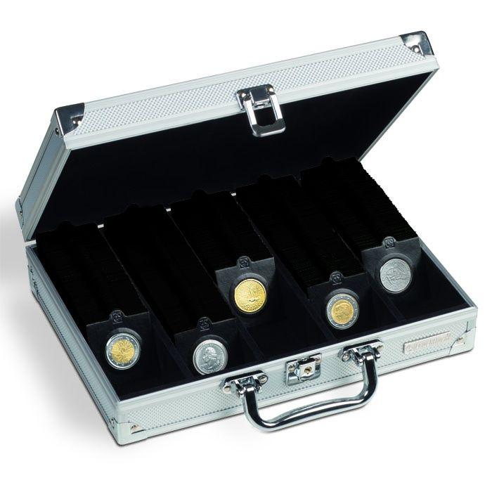 Kufřík na 650 mincovních rámečků s 5-ti řadami