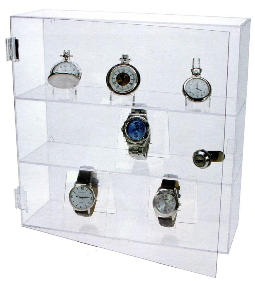 SAFE - Střední vitrína pro sběratelské předměty - minerály, modely, figurky