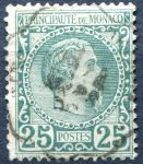 (1885) MiNr. 6 - O - Monako - kníže Charles III.