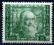 (1938) MiNr. 619 ** - Itálie - Leonardo da Vinci