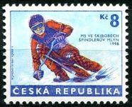 (1998) č. 170 ** - 8 Kč - Česká republika - MS ve skibobech
