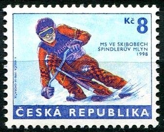 (1998) č. 170 ** - Česká republika - MS ve skibobech