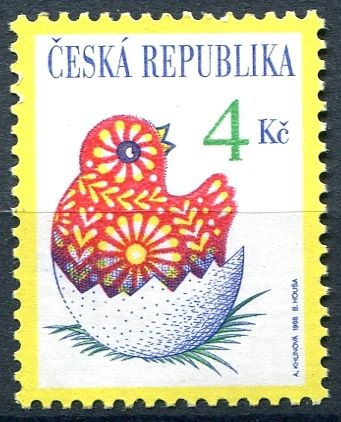 Česká pošta (1998) č. 172 ** - ČR - Velikonoce