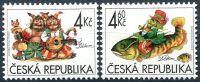 (1998) č. 189 - 190 ** - 4+4,60 Kč - Česká republika - Dětem čert a vodník