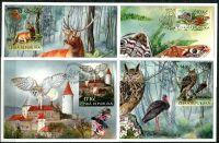 (2009) CM 72-75 (604 - 607) - Ochrana přírody:  Křivoklátsko