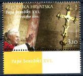 (2011) MiNr. 989 **- Chorvatsko - Návštěva papeže Bendikta XVI.
