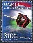 (2012) MiNr. 5551 ** - Maďarsko - Malý satelit MASAT-1