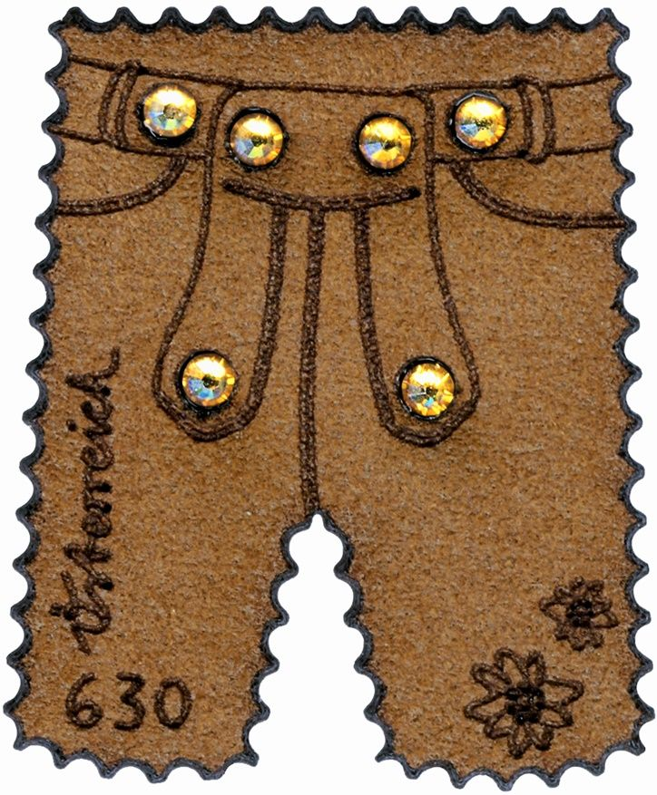 Österreich post (2014) MiNr. 3231 ** - Rakousko - Kožené kalhoty-BL