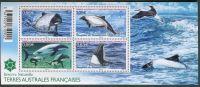 Zobrazit detail - (2014) MiNr. 858 - 861 ** - Francouzská Antarktida - Block 42 - přírodní rezervace