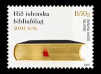 """(2015) MiNr. 1463 ** - Island - Dvoustého výročí islandské """"Bible Society"""""""