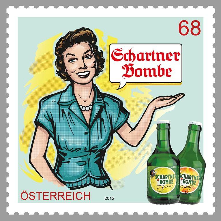 (2015) MiNr. 3181 ** - Rakousko - Klasická ochranná známka - Schartner Bombe