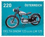 (2015) MiNr. 3200 ** - Rakousko - Motocykly - Delta Gnom 123 cc LM 125