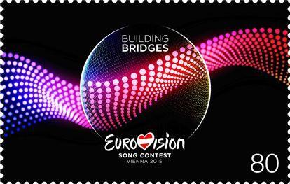 (2015) MiNr. 3208 ** - Rakousko - Eurovision Song Vídeň 2015