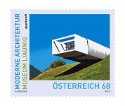 (2015) MiNr. 3210 ** - Rakousko - Moderní architektura v Rakousku - Muzeum Liaunig