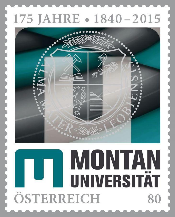 (2015) MiNr. 3232 ** - Rakousko - 175 let University Leoben