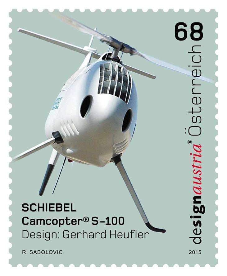 "(2015) MiNr. 3234 ** - Rakousko - Design z Rakouska - SCHIEBEL ""CAMCOPTER® S-100"""