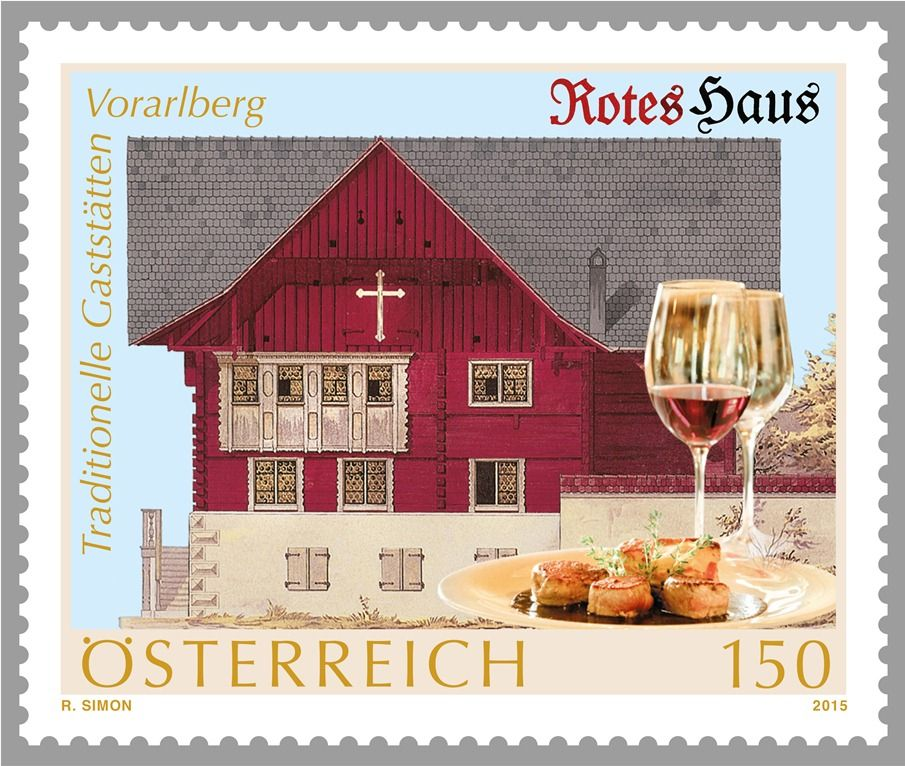 (2015) MiNr. 3238 ** - Rakousko - Stravování s tradicí - Red House