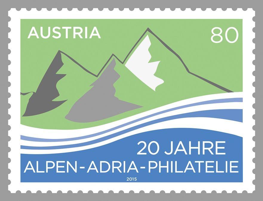 (2015) MiNr. 3227 ** - Rakousko - 20 let Alpy-Jadran Filatelie