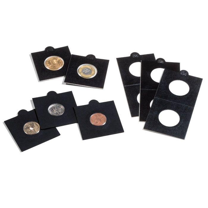 MATRIX černé mincovní rámečky Ø 30 mm