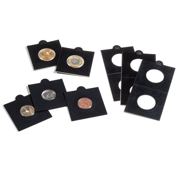 MATRIX černé mincovní rámečky Ø 35 mm