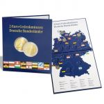 """Album na euromince PRESSO - 16 2-eurových mincí """"Deutsche Bundesländer"""""""