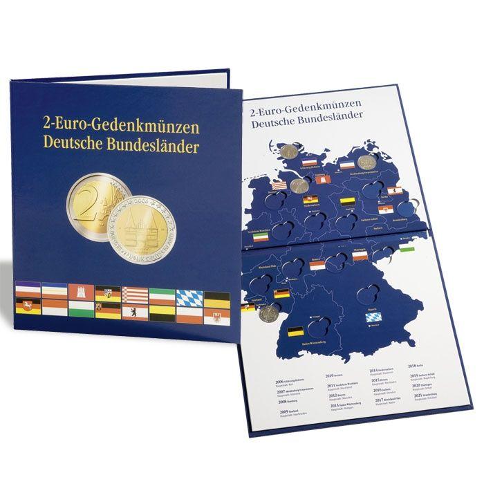 Album na euromince PRESSO - 16 2-eurových mincí